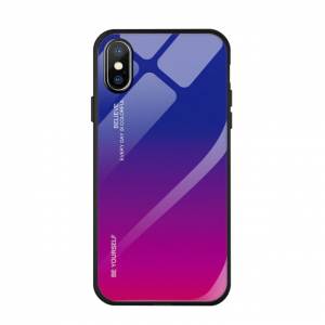 "Gradient Glass Case - Apple iPhone XS Max (6,5"")"