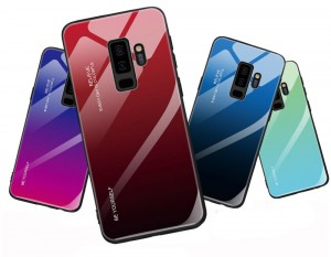 "Gradient Glass Case - Samsung S9+ (6,2"")"