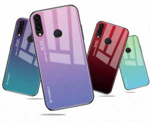 Gradient Glass Case - Xiaomi Redmi Note 7