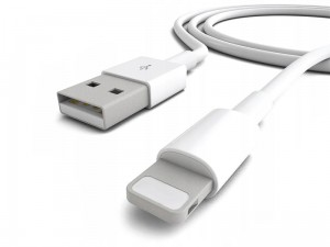 Kabel Lightning, Do Urządzeń Apple (iPhone, iPad) - 1 Metr