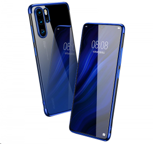"Silicone Metalic Luxury Plated Huawei P30 Pro (6,5"")"