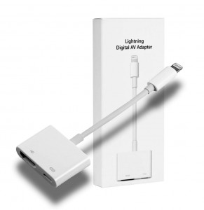 Adapter AV / Przejściówka Lightning do HDMI (iPhone, iPad, etc.)