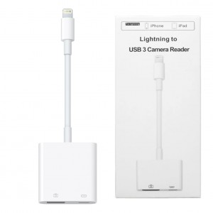 Adapter Lightning to USB 3 Camera Reader - Przejściówka do iPhone / iPad