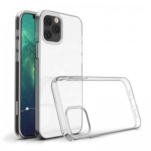 "Silikonowe Etui Crystal Case - Apple iPhone 12 Pro (6,1"")"