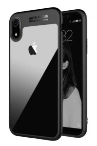 "ETUI ACRYLIC HARD BUMPER CASE IPHONE XR (6,1""), AKRYL + SILIKON"