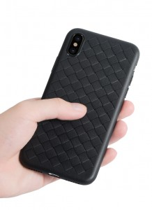 "ETETUI PLECIONE AIR SKÓRZANY BUMPER CASE iPhone X (5,8"")"