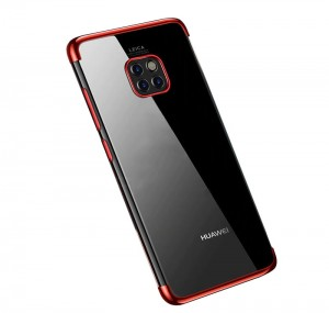 "SILICONE METALIC PLATED CASE HUAWEI MATE 20 PRO (6,3"")"