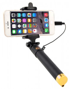 KIJ DO SELFIE STICK MONOPOD NA KABEL LIGHTNING 80 cm iPhone