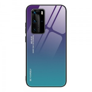 "Gradient Glass Case - Huawei P40 PRO (6,58"")"