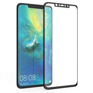 "Smart-Glass® Szkło Hartowane Full Glue (0,4 mm) - Huawei Mate 20 Lite (6,3"")"