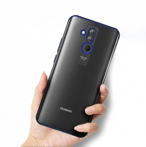 SILICONE METALIC PLATED CASE HUAWEI MATE 20 LITE