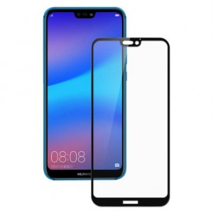 "Smart-Glass® Szkło Hartowane Full Glue 5D 4D 3D Case Friendly - Huawei P20 Lite (5,8"")"