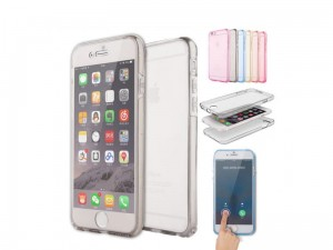 Etui silikonowe 360 stopni apple iPhone 6 6s+ PLUS 5,5