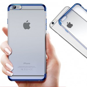 "SILICONE METALIC PLATED CASE iPhone 6 / 6s+ PLUS (5,5"")"