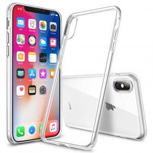 "SILIKONOWE ETUI CRYSTAL CASE iPhone X (5,8"")"